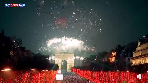 احتفالات راس السنه في باريس